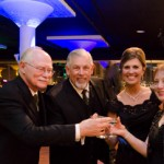 Parents Toasting newleyweds at St. Louis Wedding