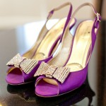 Purple Bride Shoes