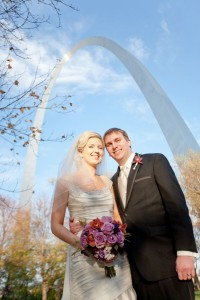 Kate & Don at The St. Louis Arch