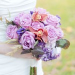 Pink and Lavender Bridal Bouquet