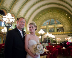 Anna & Tucker at St. Louis Union Station