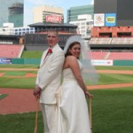 Jessie & Nick at Busch Stadium
