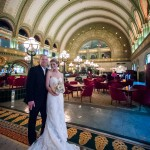 Anna and Tucker at Union Station
