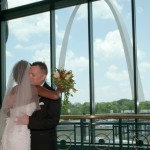Felicia & David at The St. Louis Arch