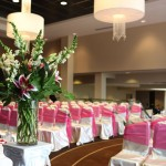 Wedding Ceremony Set-up in the Arch View Foyer